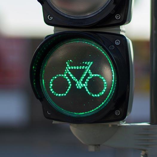Traffic Light for Bikers